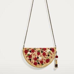 Zara Beaded Pizza Bag 🍕